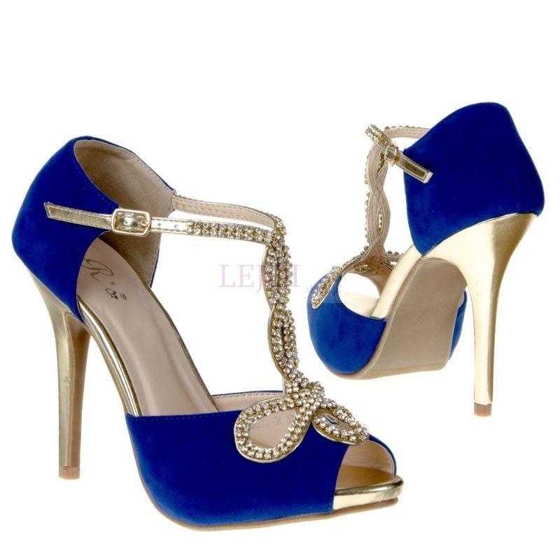 Sandałki chabrowe