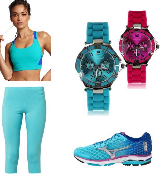 Stylizacja sportowa- zegarek