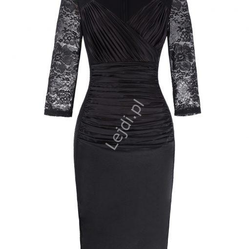 Czarna sukienka na pogrzeb