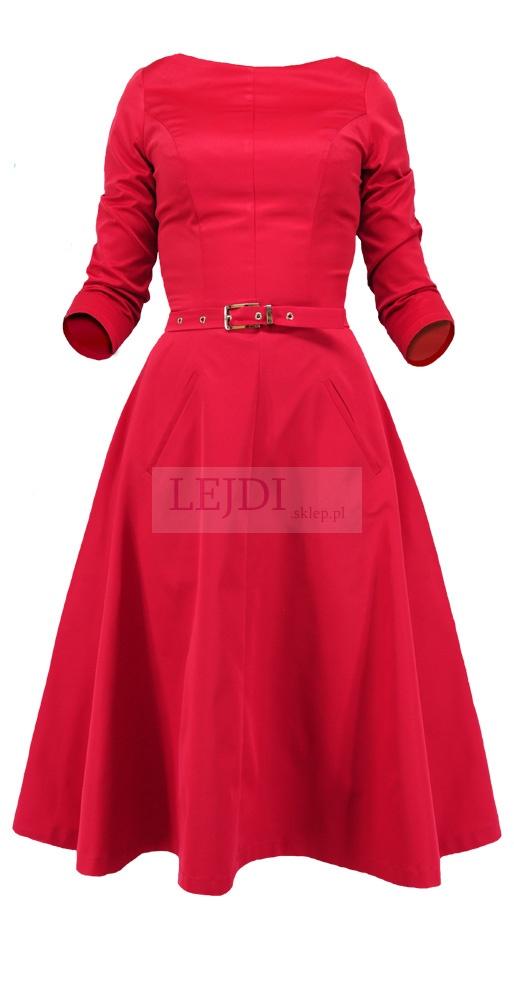 Rozkloszowana sukienka dla Mamy Panny Młodej, sukienka dla Mamy Pana Młodego