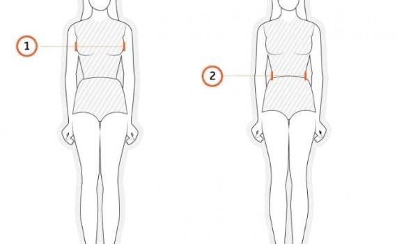 jak się mierzyć -pomiar bluzki
