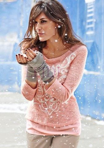 Sweter damski.