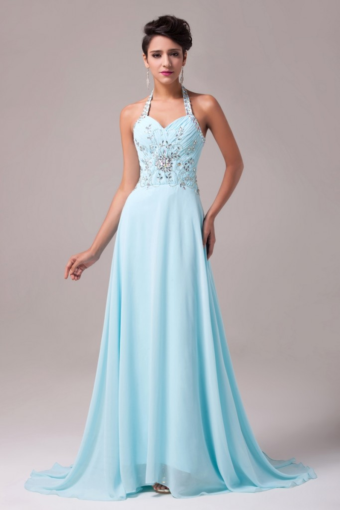 turkusowa suknia - turkusowe sukienki, suknia na sylwestra, studniówkę, suknie sylwestrowe