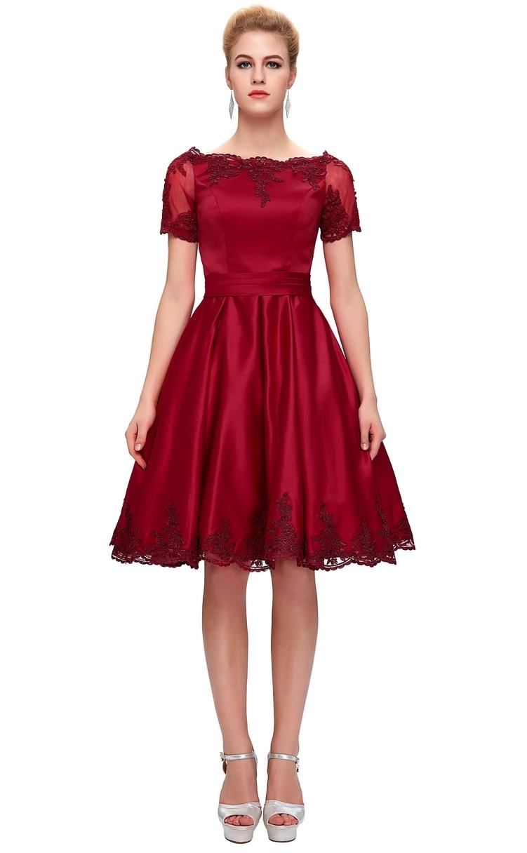 Czerwona sukienka na wesele. Czerwone sukienki na wesele.