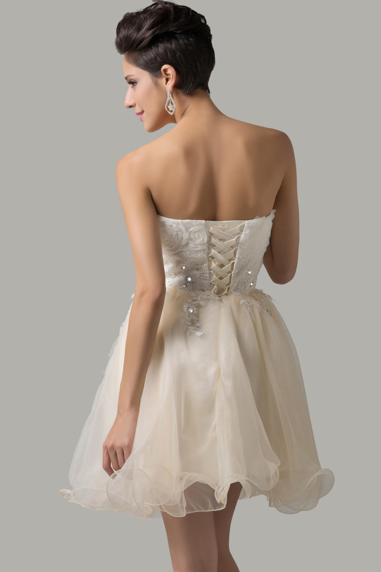 Sukienka z gorsetem - prawidłow