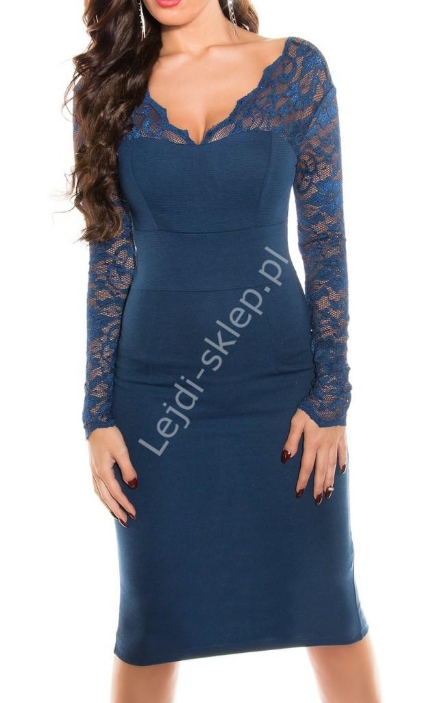 7ba6ed9ddd beżowa-sukienka-z-czarną-koronką