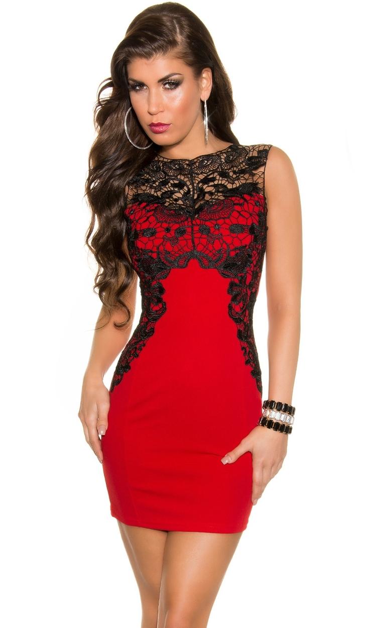 Czerwona sukienka Andrzejkowa