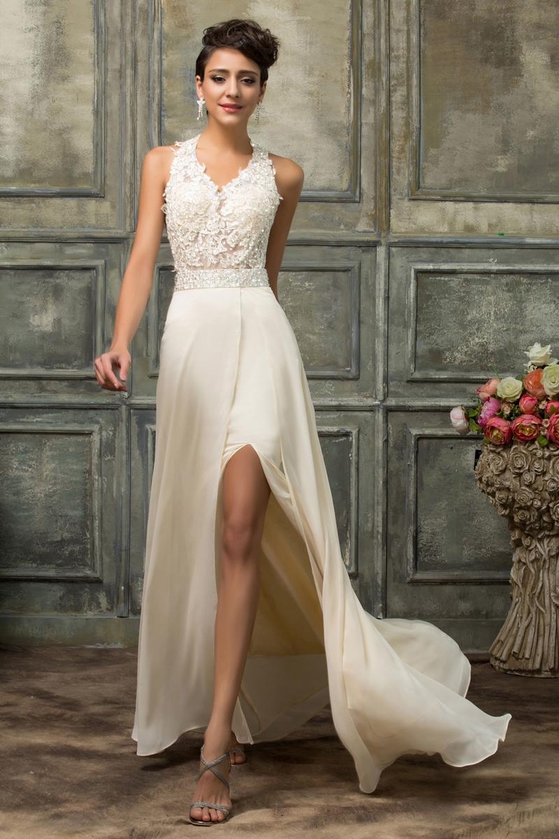 Długa sukienka na studniówkę