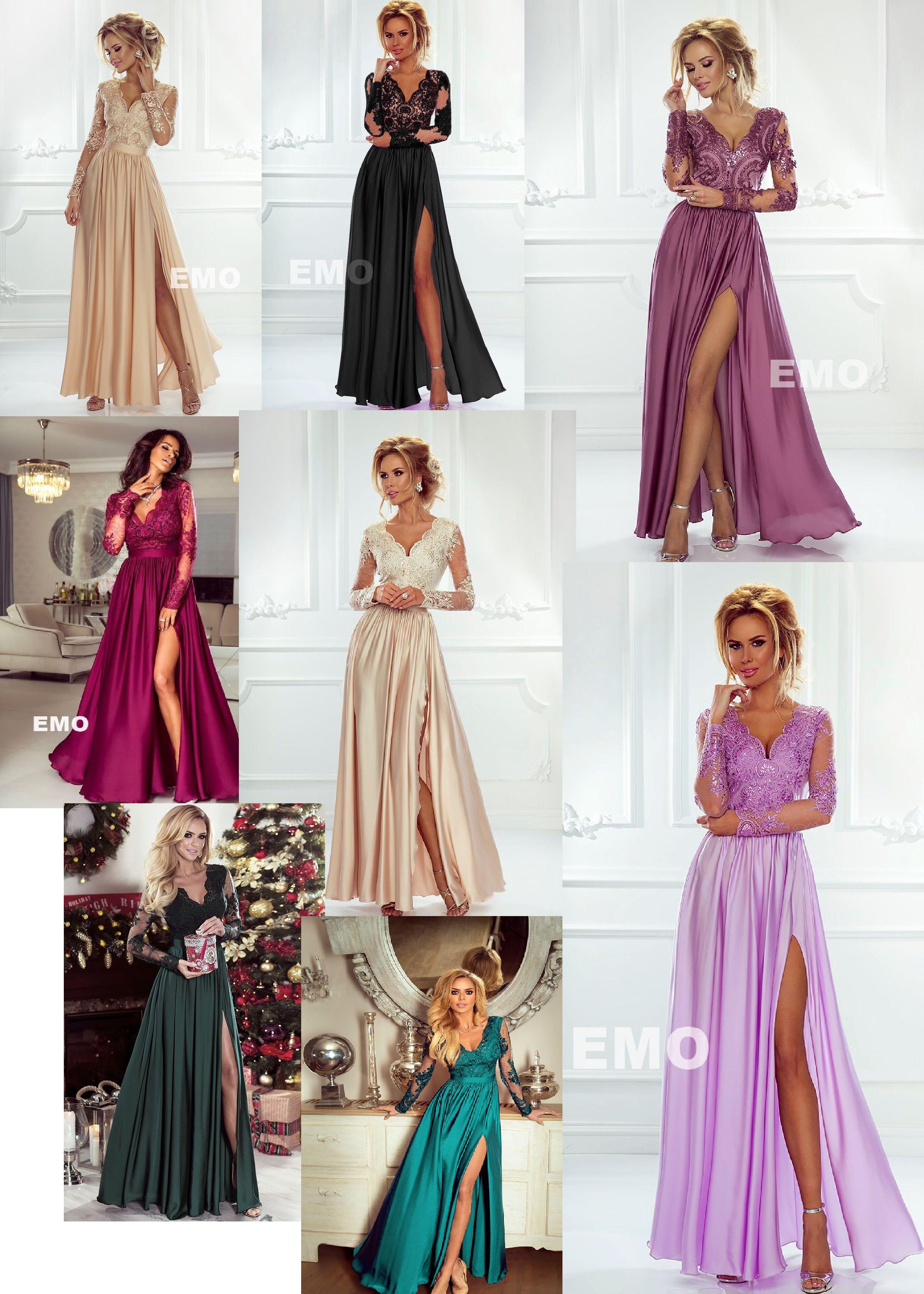 Sukienki na studniówkę 2019