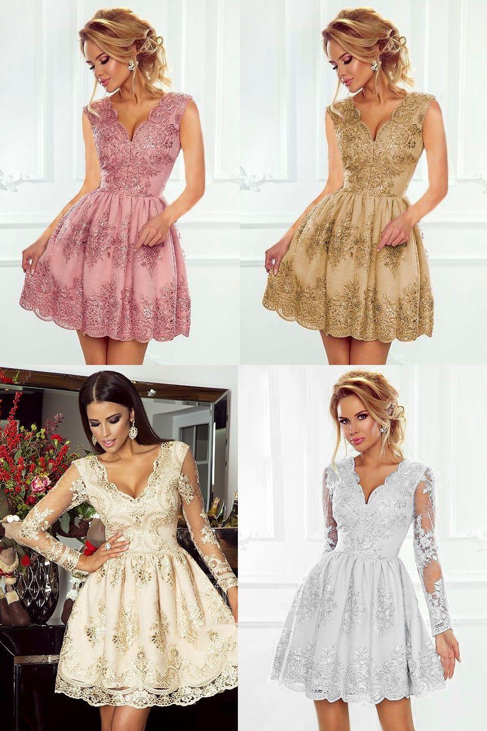 Krótkie sukienki na studniówkę Amelia
