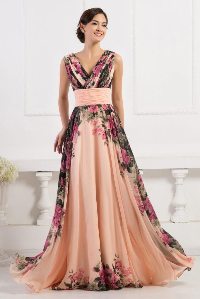 Długa suknia na wesele