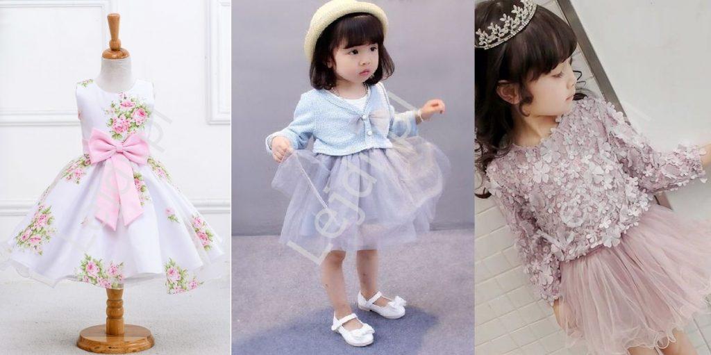 Sukienki dla dziewczynki na komunie