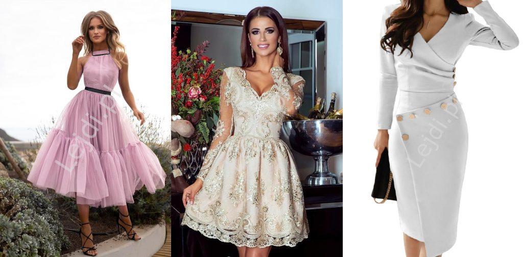 Sukienki na komunie dla mamy