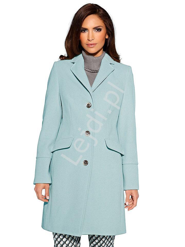 Wiosenny płaszcz Plus size