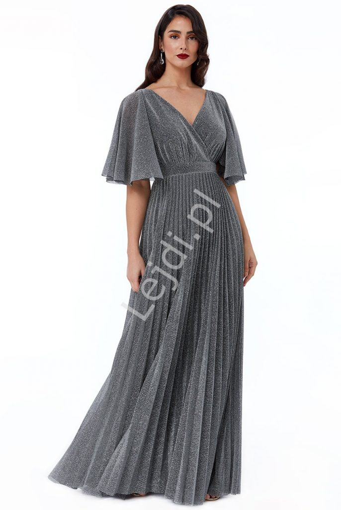 Potomstvo Stěžuji si odpojeno zwiewna sukienka na wesele
