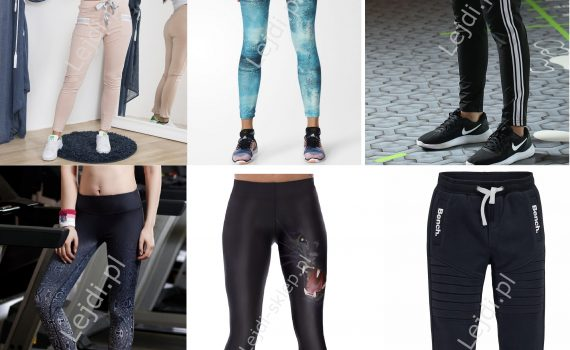 Spodnie dresowe, legginsy sklep