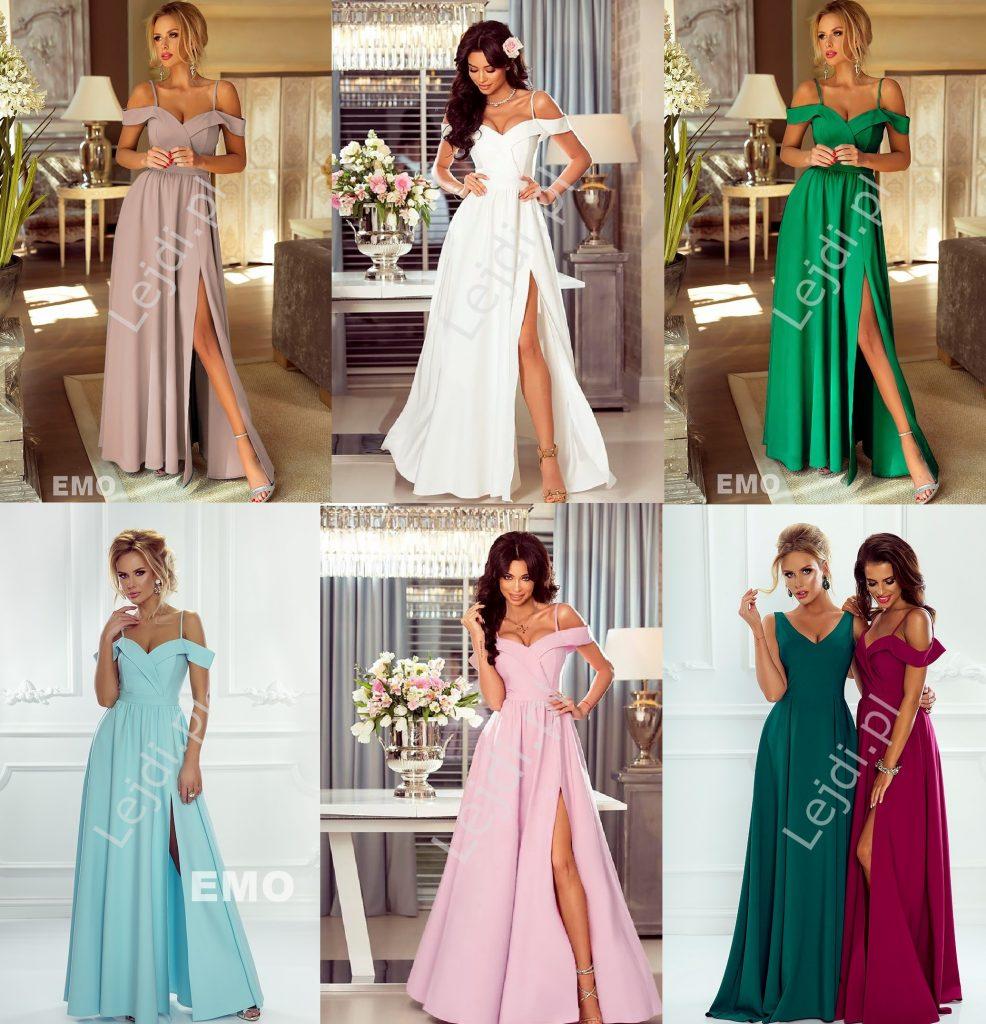 Długie suknie na wesele