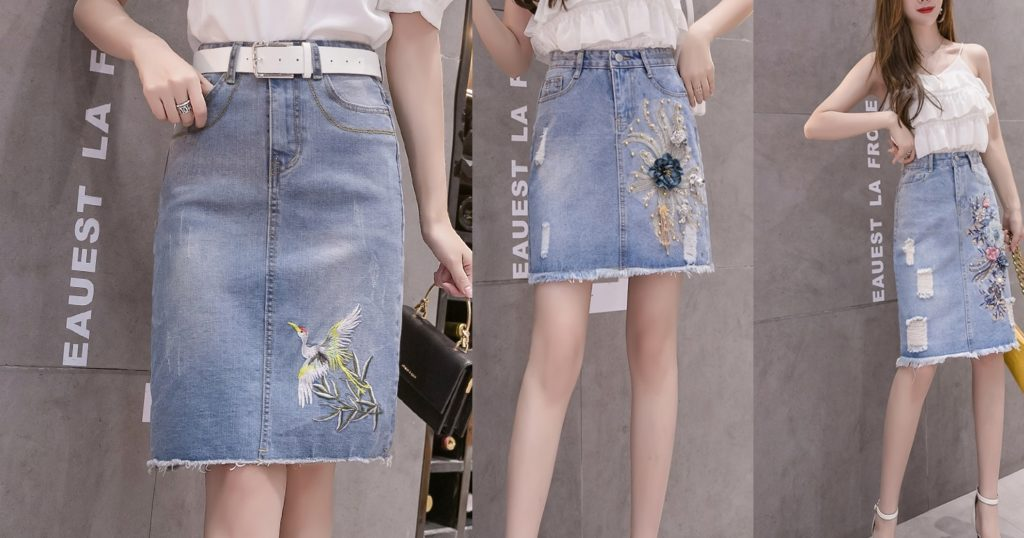 Spódnice z jeansu