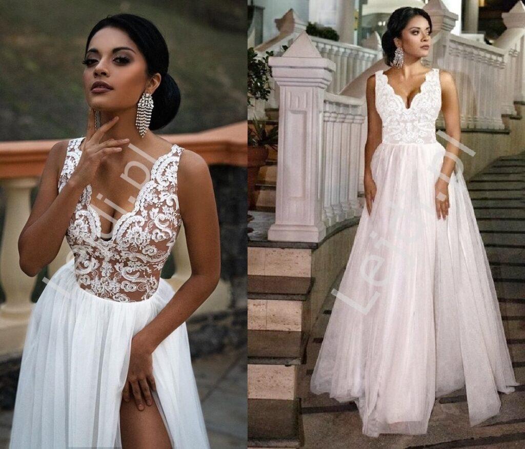 Suknie ślubne z koronki
