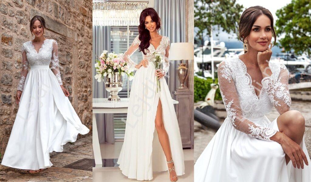 Białe sukienki ślubne
