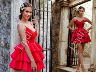 Czerwone sukienki wieczorowe