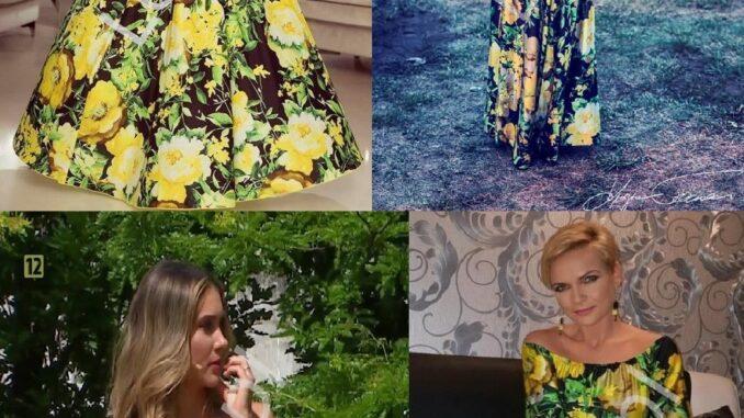 Kwiecista sukienka Ida Nowakowska, Anna Popek, Aleksandra Kostka