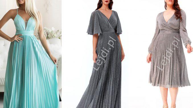 Plisowane sukienki