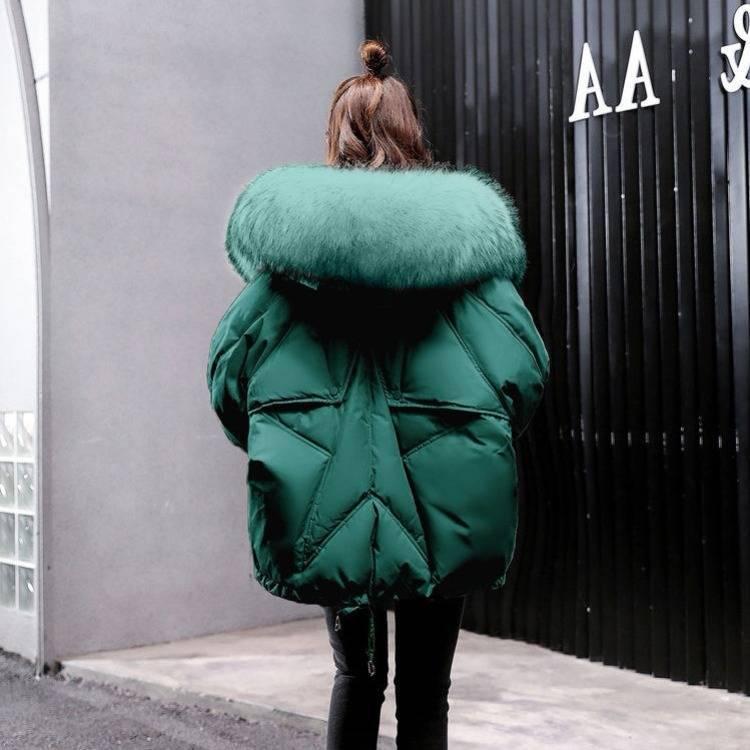 kurtka puchowa na zimę