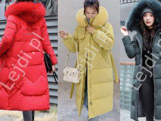 Płaszcze na zimę, jesień, pikowane, puchowe 2020 / 2021