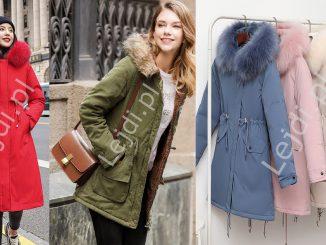 Płaszcze damskie, płaszcz na zimę, parka