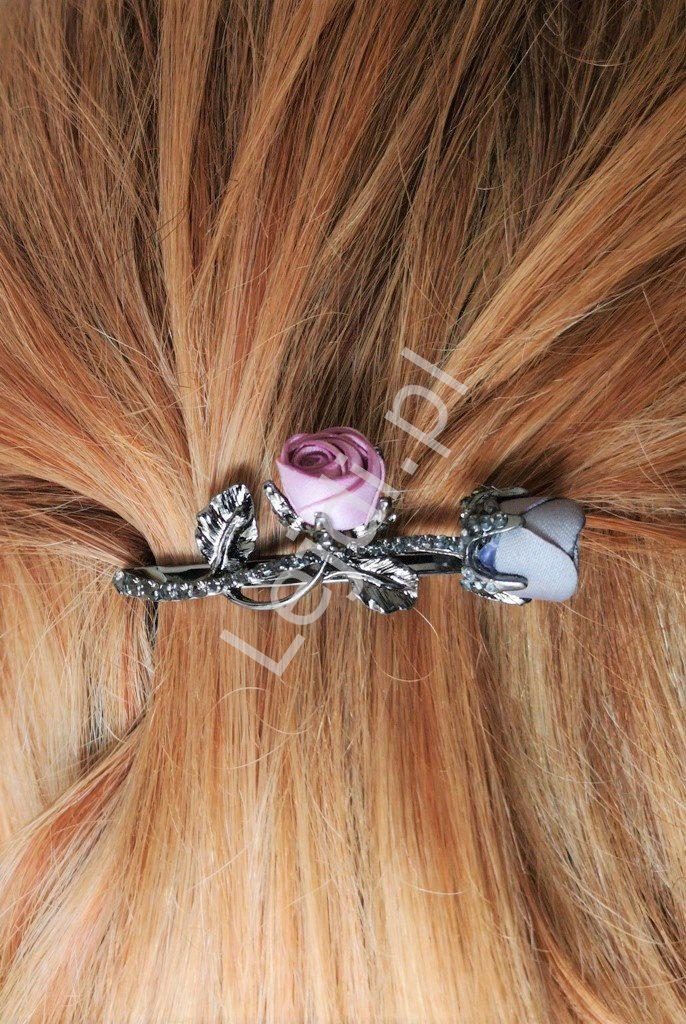 Spinka do włosów z kryształkami