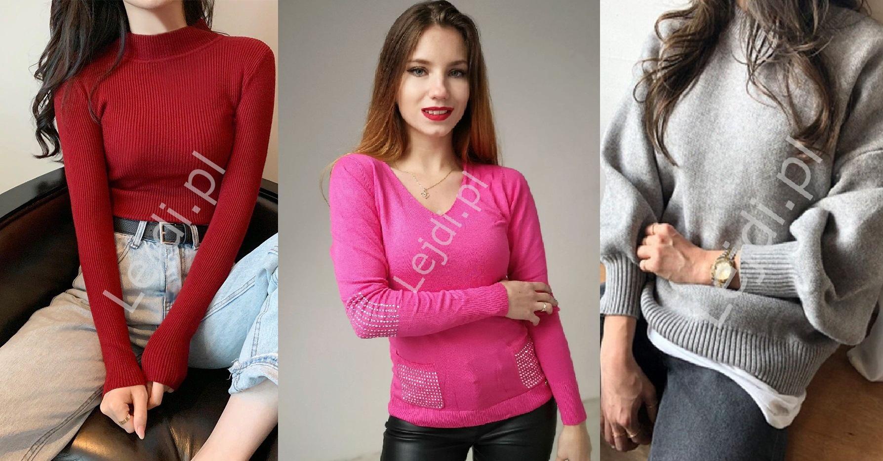 Swetry damskie - sweter na zimę
