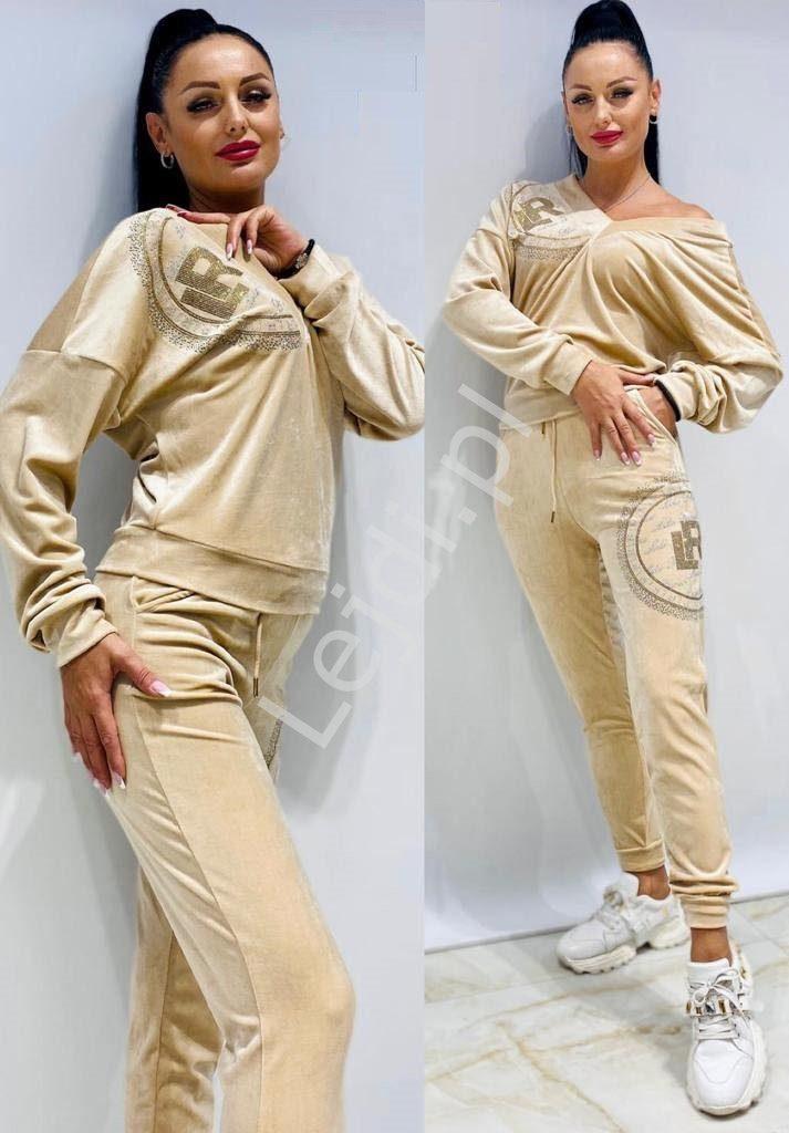Welurowe dresy damskie Lilo Ricco