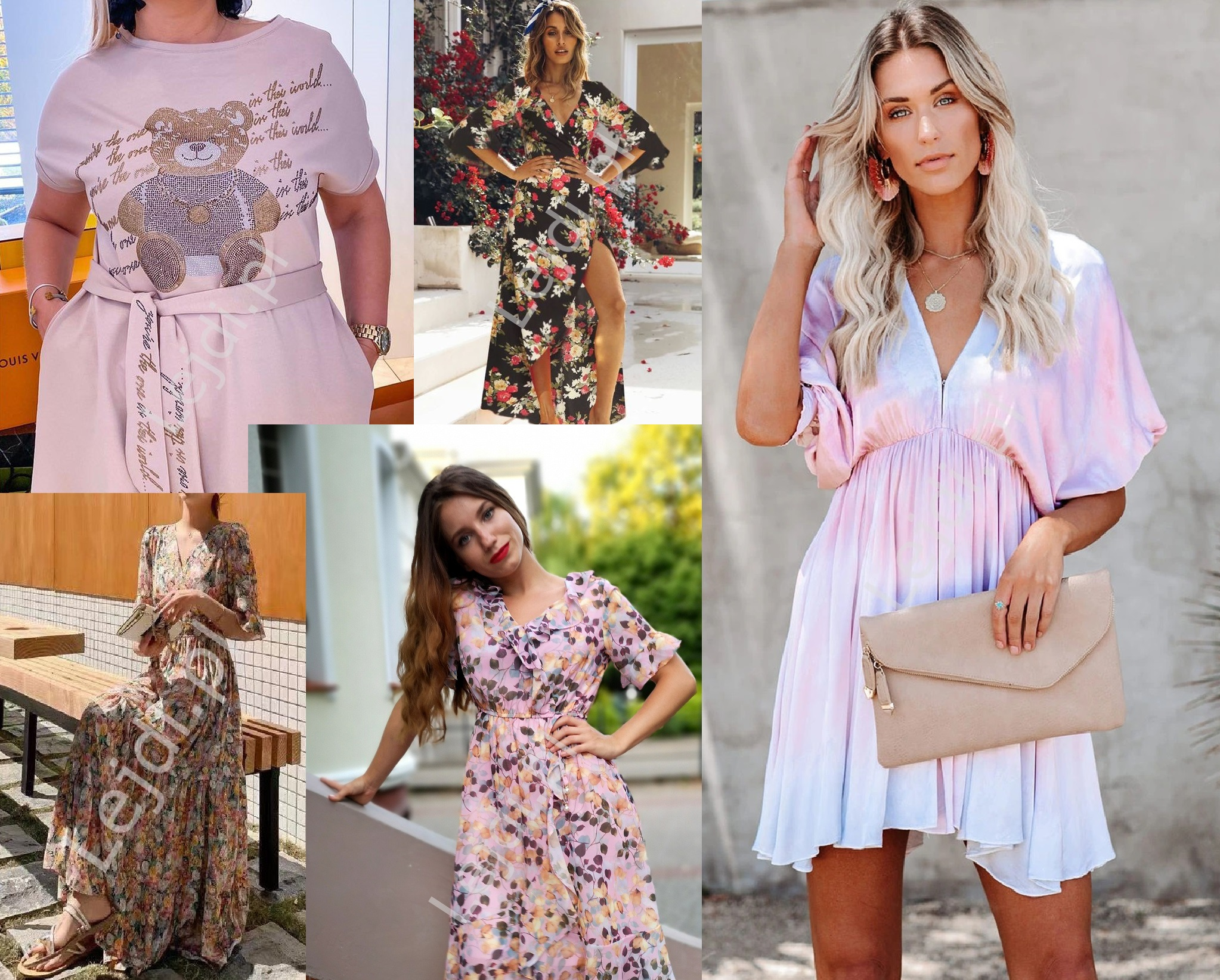 Modne sukienki na lato 2021