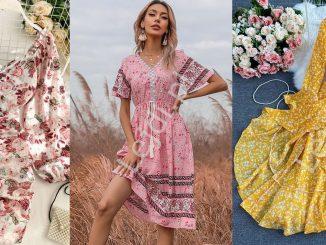 Sukienki w łączkę na lato