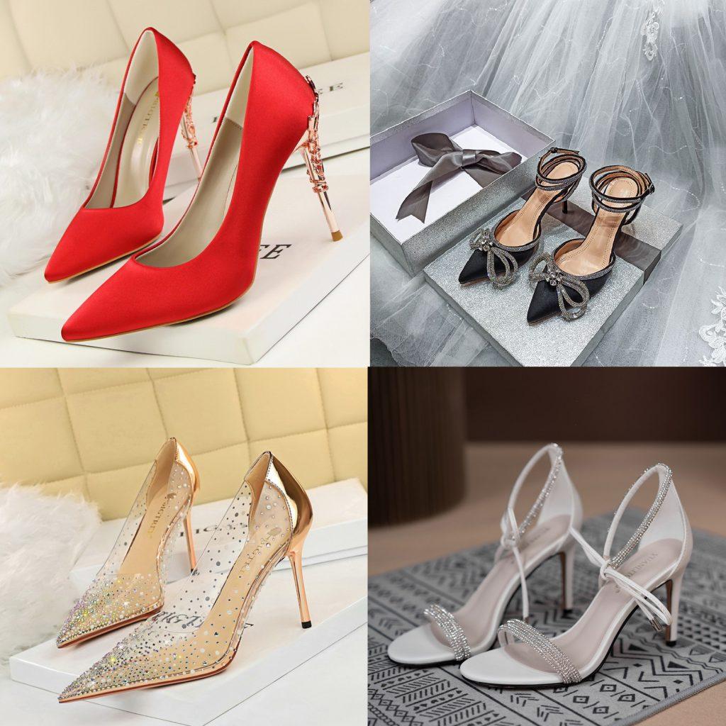 Buty do czerwonej sukienki