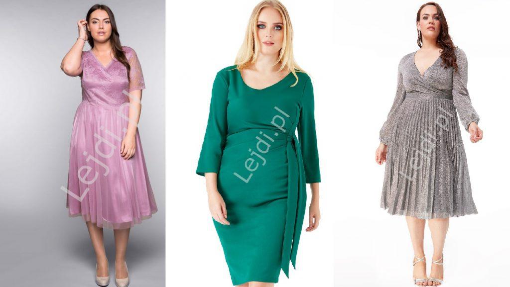 Sukienki tuszujące brzuch.