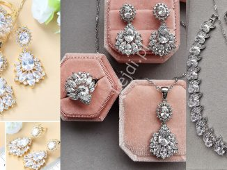 Biżuteria ślubna, Naszyjnik ślubny, kolczyki ślubne