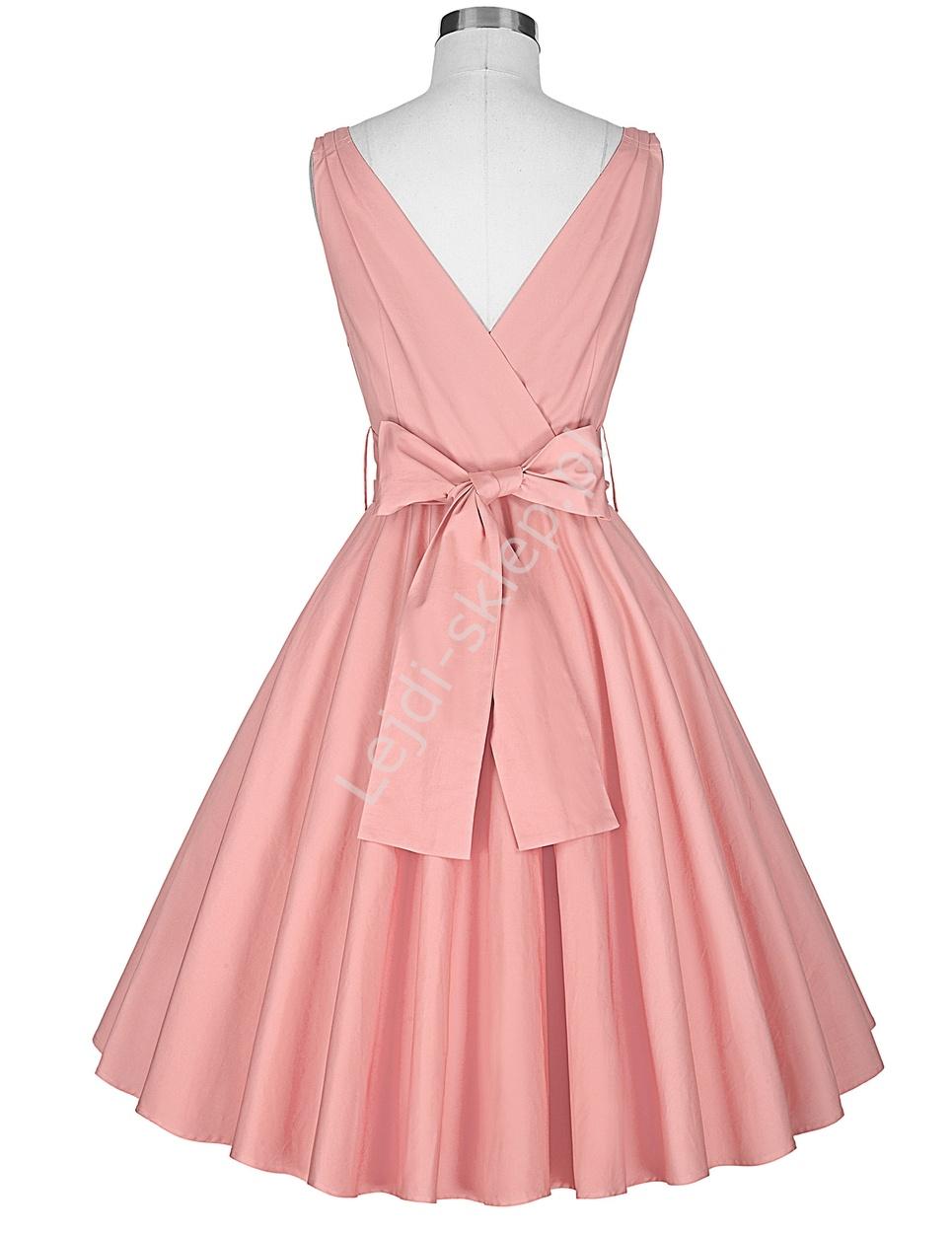 Bawełniana Sukienka W Stylu Vintage Lata 60 Te 8955 Lejdipl