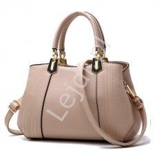 68652e344e165 Czekoladowa torebka z kieszeniami w stylu Pippy Middleton - Lejdi.pl