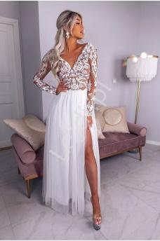 Długie sukienki na wesele, balowe, studniówkowe
