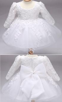 Sukienka do chrztu dla dziewczynek