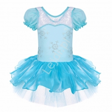 107fe72934 Błękitna sukienka dla dziewczynki