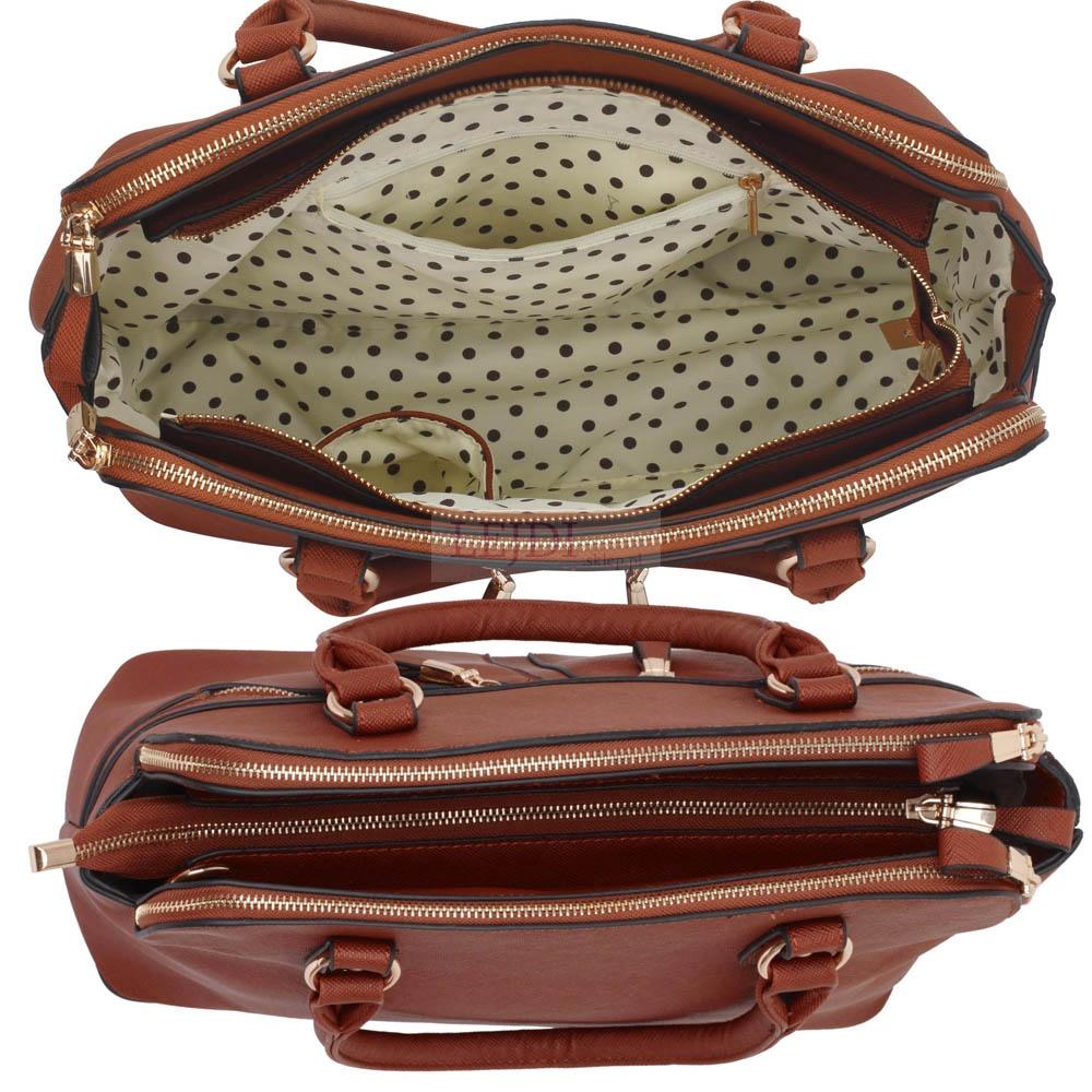 4a50aad327210 Brązowa torebka z kieszeniami w stylu Pippy Middleton - Lejdi.pl