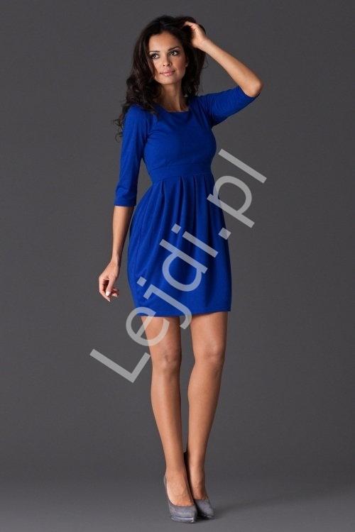 Chabrowa sukienka FIGL M122 - Lejdi