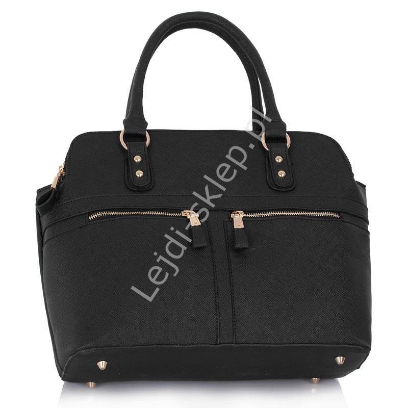 2c2c27a7fbc68 Czarna torebka z kieszeniami w stylu Pippy Middleton - Lejdi.pl