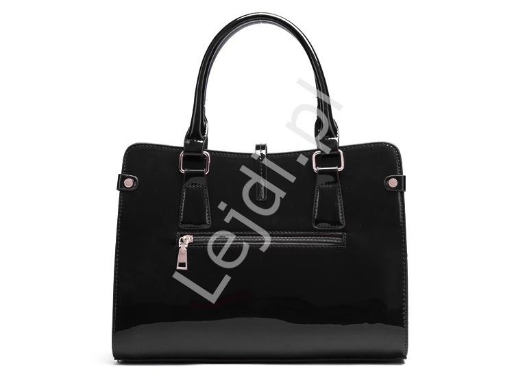3c7f6adbe0d82 Czarne torebki damskie + kopertówka + saszetka | zestaw 3 torebek ...