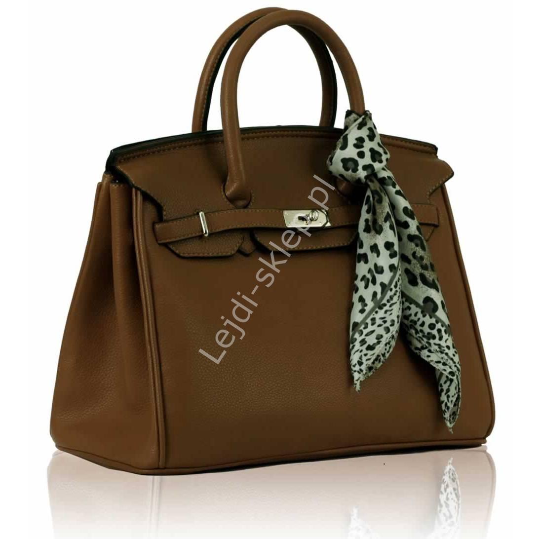 3df003a871776 Czekoladowa torebka z kłódką - torebki gwiazd + chusta