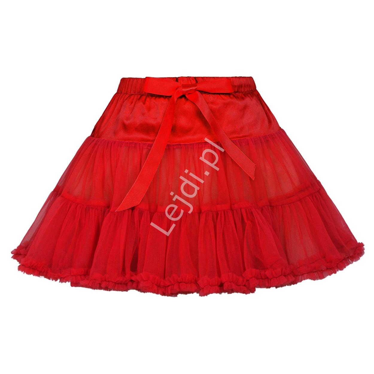 Czerwona halka dziecięca, spódnica tutu skirt | czerwone spódniczki, halka dla dziewczynki - Lejdi