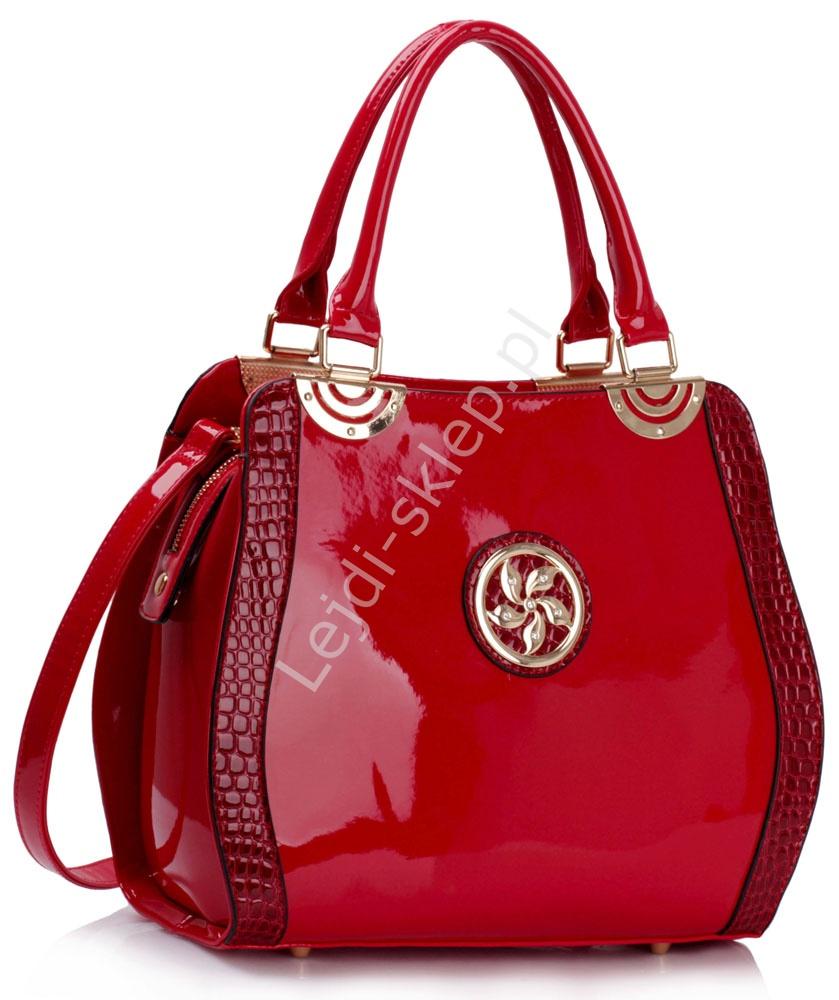 649dfa9117cd7 Czerwona torebka
